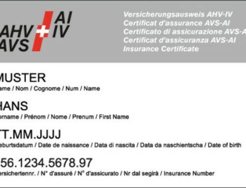 AHV-Versicherungsnachweis und Versicherungsnachweis abgeschafft